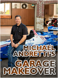 Andretti Garage Makeover