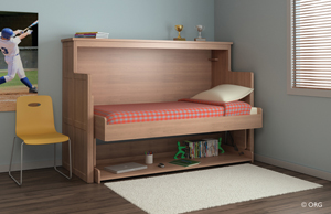 Looking For A Creative Way To Do More Within The Same E This Innovative Desk Bed Converts Small Es Without Adding Or Moving Furniture