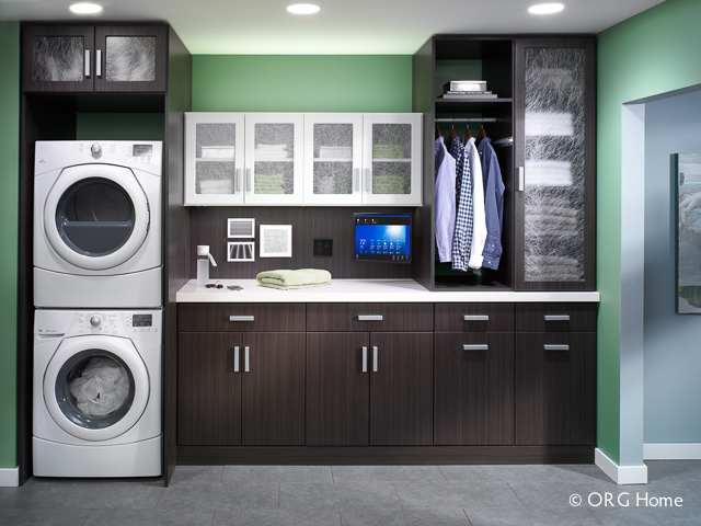 shelves organization organized open and within laundry reach room everything keep