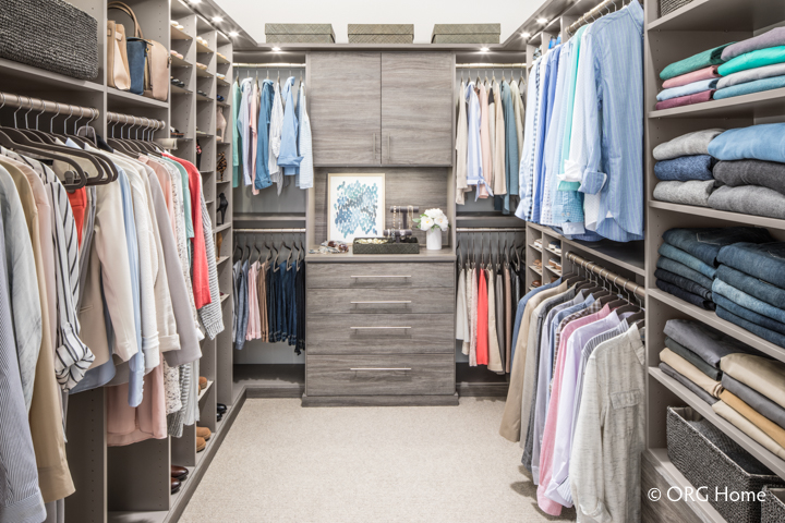 Beautiful Custom Closet Organizer